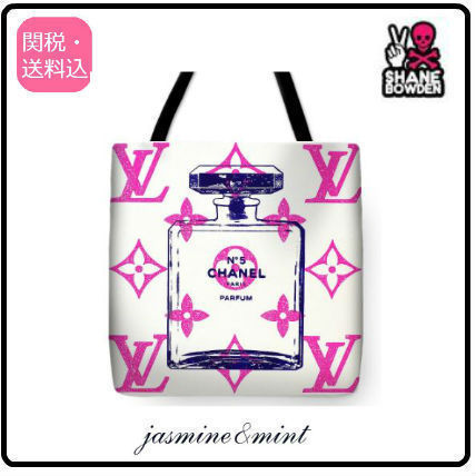 Casual Style Unisex A4 Totes