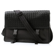 BOTTEGA VENETA Lambskin A4 Messenger & Shoulder Bags