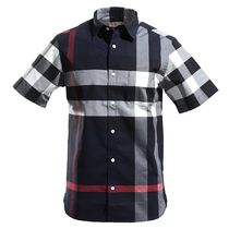 Burberry Cotton Short Sleeves Shirts