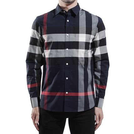 Burberry Shirts Long Sleeves Cotton Shirts 2