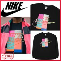 Nike Crew Neck Pullovers Unisex Street Style Collaboration
