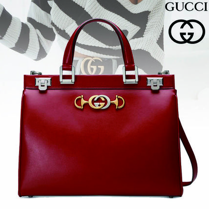 Gucci 2019 Ss 2way Plain Leather Handbags By Decorate Buyma