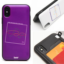 TWN Unisex Street Style Plain Smart Phone Cases