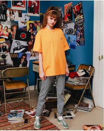 WV PROJECT More T-Shirts Unisex Street Style Cotton Short Sleeves Oversized T-Shirts 12
