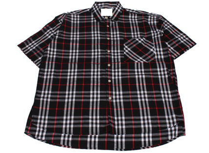 Shirts Other Check Patterns Unisex Street Style Cotton 20