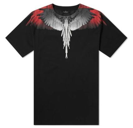 Marcelo Burlon More T-Shirts Street Style Cotton Short Sleeves T-Shirts 3