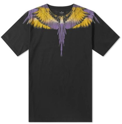 Marcelo Burlon More T-Shirts Street Style Cotton Short Sleeves T-Shirts 4