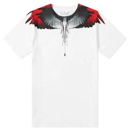 Marcelo Burlon More T-Shirts Street Style Cotton Short Sleeves T-Shirts 6
