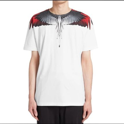 Marcelo Burlon More T-Shirts Street Style Cotton Short Sleeves T-Shirts 12