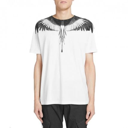 Marcelo Burlon More T-Shirts Street Style Cotton Short Sleeves T-Shirts 11