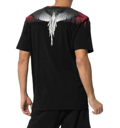 Marcelo Burlon More T-Shirts Street Style Cotton Short Sleeves T-Shirts 9