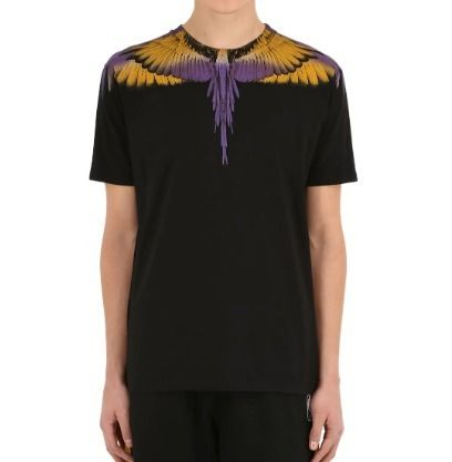 Marcelo Burlon More T-Shirts Street Style Cotton Short Sleeves T-Shirts 10