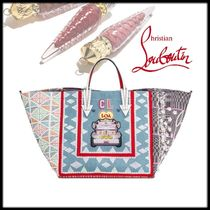 Christian Louboutin Blended Fabrics Mothers Bags