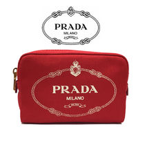 PRADA CANAPA Pouches & Cosmetic Bags
