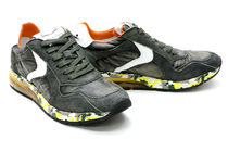 VOILE BLANCHE Camouflage Suede Street Style Sneakers