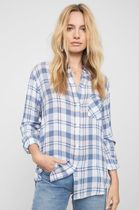 Ron Herman Other Plaid Patterns Casual Style Long Sleeves Handmade