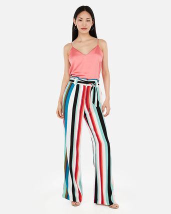 Stripes Casual Style Pants