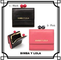 bimba & lola Dots Leather Folding Wallets
