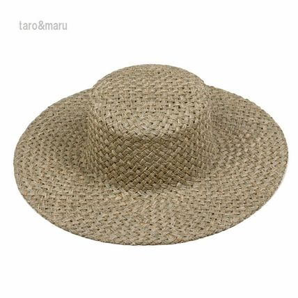 Unisex Straw Boaters Straw Hats