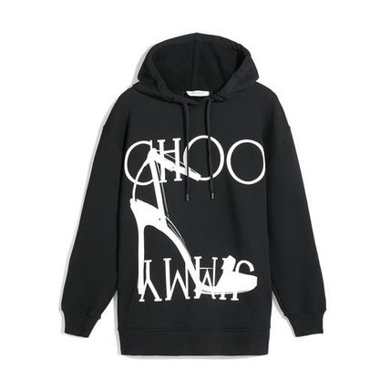 Jimmy Choo Hoodies & Sweatshirts Unisex Street Style Long Sleeves Cotton Medium 2