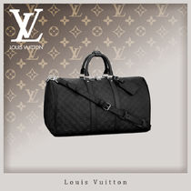 Louis Vuitton DAMIER INFINI Unisex 1-3 Days Soft Type Carry-on Luggage & Travel Bags
