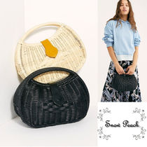 Free People Plain Straw Bags