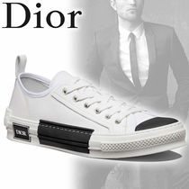 c1cb924b80e DIOR HOMME Flower Patterns Blended Fabrics Street Style Sneakers