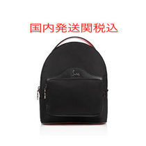 Christian Louboutin Unisex Street Style A4 Backpacks