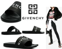 GIVENCHY Casual Style Plain Sport Sandals PVC Clothing Flat Sandals