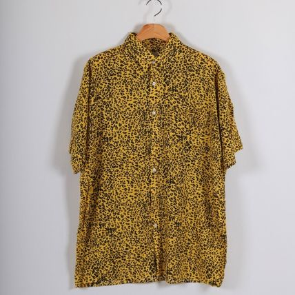 Shirts Leopard Patterns Short Sleeves Shirts 4