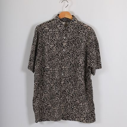 Shirts Leopard Patterns Short Sleeves Shirts 5