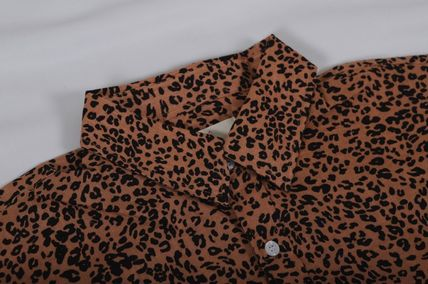 Shirts Leopard Patterns Short Sleeves Shirts 6
