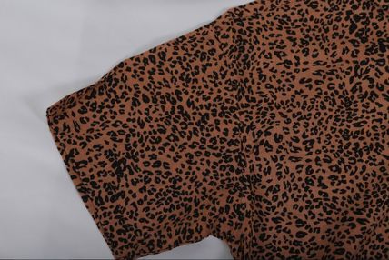 Shirts Leopard Patterns Short Sleeves Shirts 7