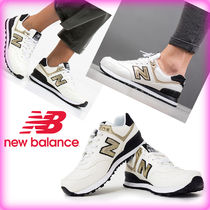 New Balance 574 Unisex Street Style Low-Top Sneakers