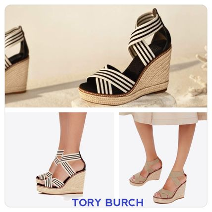 81f304123c ... Sandals 11 Tory Burch Platform & Wedge Open Toe Casual Style Platform &  Wedge ...