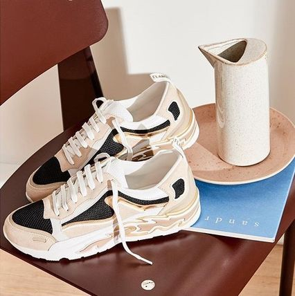 Casual Style Street Style Dad Sneakers Low-Top Sneakers