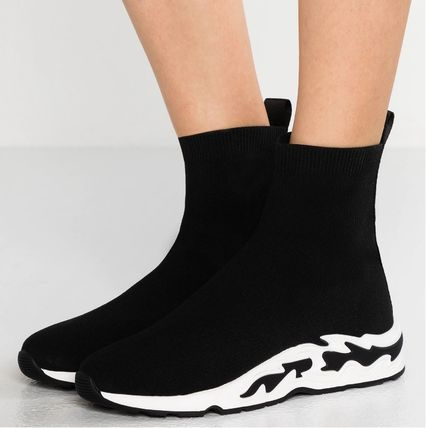 Platform Casual Style Street Style Sock Sneakers