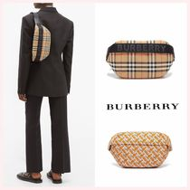 Burberry Gingham Casual Style Street Style 2WAY Bags
