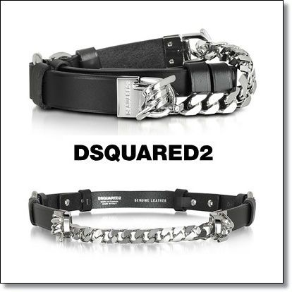 Street Style Chain Leather Belts