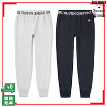 CHAMPION Tapered Pants Unisex Sweat Street Style Collaboration