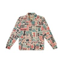 Deus Ex Machina Henry Neck Street Style Long Sleeves Cotton Tops