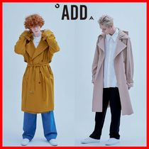ADD SEOUL Street Style Trench Coats