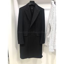 CELINE Cashmere Plain Long Chester Coats