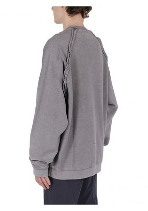 Maison Martin Margiela Sweatshirts Crew Neck Street Style Long Sleeves Cotton Sweatshirts 7