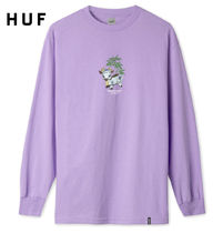 HUF Crew Neck Street Style Collaboration Long Sleeves