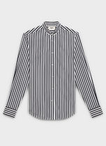 CELINE Button-down Stripes Long Sleeves Cotton Shirts