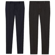 CELINE Tapered Pants Stripes Wool Tapered Pants