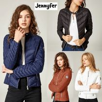 Jennyfer Short Street Style Plain Down Jackets