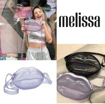 Melissa Casual Style 2WAY PVC Clothing Shoulder Bags