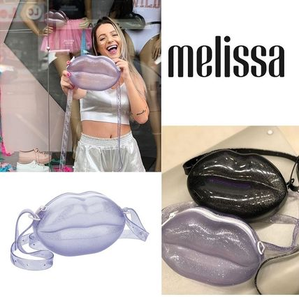 Casual Style 2WAY PVC Clothing Shoulder Bags